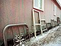 Bed frames, Carcross, Yukon (16209531136).jpg