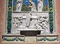 Benedetto buglioni, pala col miracolo di bolsena (1496) 03.JPG