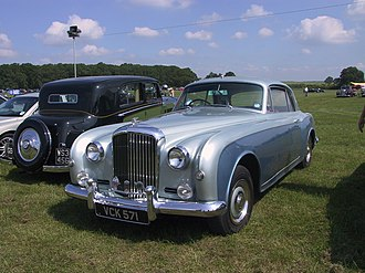 Bentley Continental - Image: Bentley S1 RREC Annual Rally 2006 4846433986