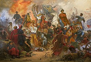 Battle of Berestechko - Battle of Berestechko. Artur Orlionov.