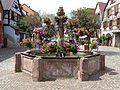 Bergheim - fontaine - place du Docteur Pierre Walter (1-2016) P1050769.jpg
