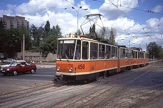 Tatra KT4 - Image: Berlin, Tatra KT4