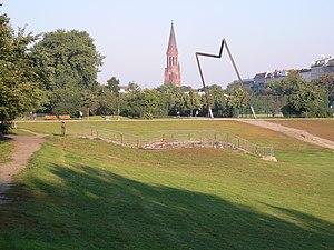 Görlitzer Park - The park in 2005