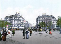 Potsdamer Platz, Unbekannt [Public domain], via Wikimedia Commons