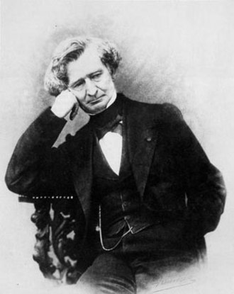 Mémoires (Berlioz) - Hector Berlioz photographed by Pierre Petit (1863).
