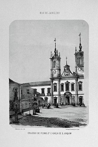 Colégio Pedro II - Colégio Pedro II, 1856