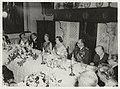 Bezoek van Koningin Juliana aan het Frans Halsmuseum. Diner aangeboden door de Ministerrraad aan de Koningin en aan de Groothertogin van Luxemburg en haar gemaal, Prins Felix. Links op de fo, NL-HlmNHA 54001469.JPG