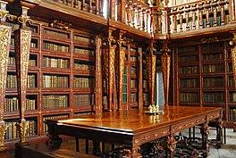 """Résultat de recherche d'images pour """"La bibliothèque Joanina au Portugal"""""""