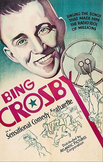 Bing Crosby filmography - Poster for Sing, Bing, Sing (1933)