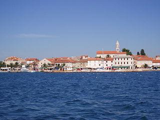 Town in Zadar, Croatia