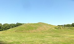 Mound A, der größte Mound in Poverty Point