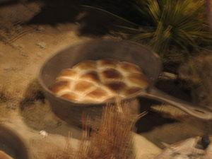 Panhandle–Plains Historical Museum - Campfire biscuits at the Panhandle-Plains Museum