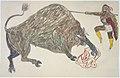 Bison hunt (Gokliz sketch).jpg