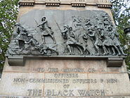 Black Watch Memorial panel