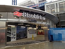 Blackfriars South Bank entrance.jpg