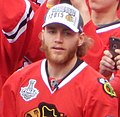 Blackhawks-group1-2015 (cropped) Patrick Kane.jpg