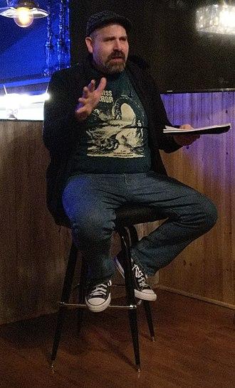 MonsterTalk - Co-host Blake Smith speaking in March 2018