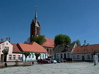 Bledzew Village in Lubusz Voivodeship, Poland