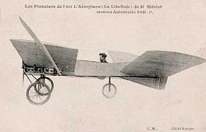 Bleriot VI in contemporary postcard, circa 1907.