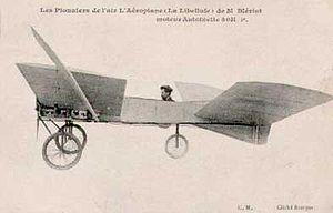 Tandem wing - Image: Bleriot VI