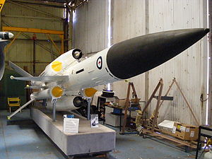 Bloodhound (missile) - Bloodhound as used by the RAAF from 1963 with No.30 Squadron in Darwin, Australia
