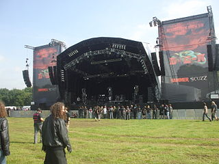 Bloodstock Open Air Annual British heavy metal festival