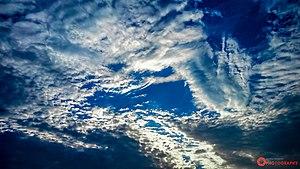 Blue & White Sky By Mushfiqur Rahman Abir