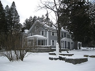 Boal Mansion - The mansion in 2013