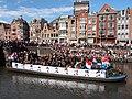 Boat 12 Leger, Marine, Landmacht boot, Canal Parade Amsterdam 2017 foto 5.JPG