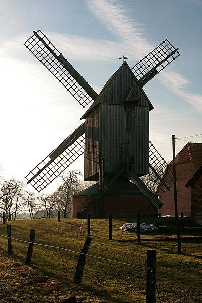Historie - Bockwindmühle Krippendorf