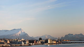 Bodø Municipality in Nordland, Norway
