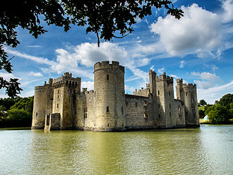 Bodiam Castle - In 1483, Thomas Howard, the Earl of Surrey, prepared to besiege Bodiam Castle.