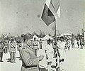 Bogoljub Ilič med govorom na prisegi prostovoljcev jugoslovanskega kraljevega gardnega bataljona.jpg