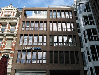 Booking.com - One of Booking.com's satellite offices in Amsterdam