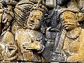 Borobudur - Lalitavistara - 013 E, The Bodhisattva enters Queen Maya's Womb (detail 2) (11247808485).jpg