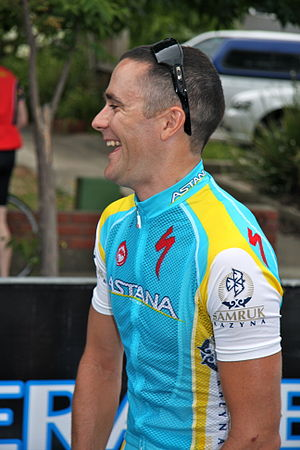 Borut Božič - Božič at the 2012 Tour Down Under