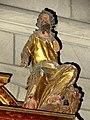Bougival (78), église Notre-Dame, croisillon nord, retable, statuette de saint Marc.jpg