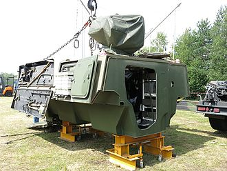 Boxer (armoured fighting vehicle) - The mission module is a key (and unique) feature of Boxer