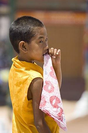 Young Boy in Kathmandu, Nepal.