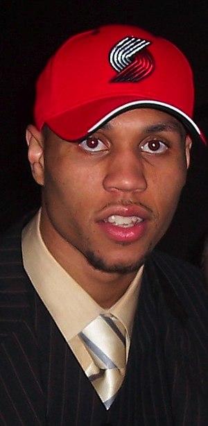 Brandon Roy - Brandon Roy during the 2006 NBA draft