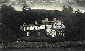 Brantwood - Brantwood. The photo is taken from Lectures on Landscape, by John Ruskin, and dates to circa 1871