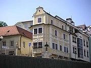 Haus zum guten Hirten in Podhradie mit dem Uhrenmuseum