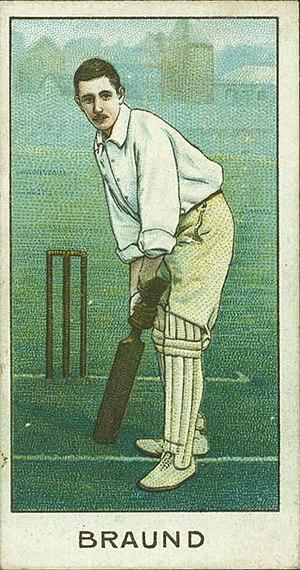 Len Braund - Image: Braund cig card