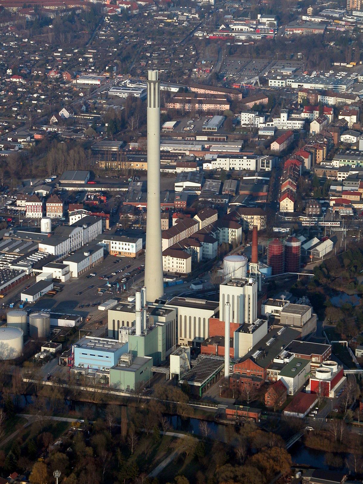 Kamin Braunschweig heizkraftwerk mitte braunschweig