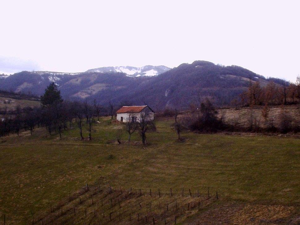 Brezovice - opština Valjevo - zapadna Srbija - panorama 6