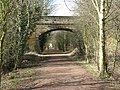 Bridge across the Haddington-Longniddry Railway Walk - geograph.org.uk - 1773687.jpg