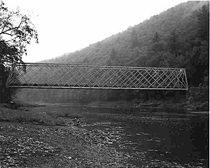 Bridge in Brown Township - Image: Bridge in Brown Township, Lycoming County