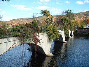 Shelburne, Massachusetts - The Bridge of Flowers