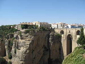 Ronda - The Puente Nuevo bridge in Ronda