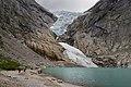 Briksdalsbreen with glacial lake, Sogn og Fjordane, Norway, 2013 June - 2.jpg
